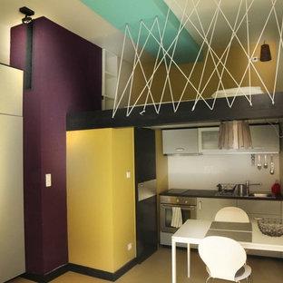 Un petit studio très coloré