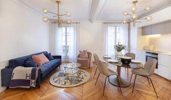 Un pied à terre parisien de 55 m2