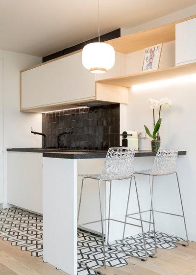 Skandinavisch Küche by Emilie Melin architecte DPLG