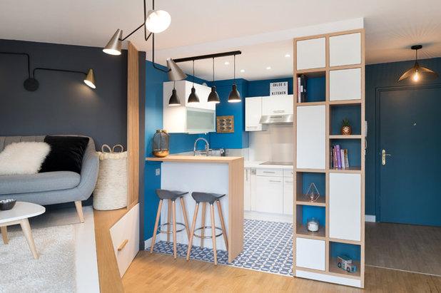コンテンポラリー キッチン by ATMOSPHÈRES DESIGN
