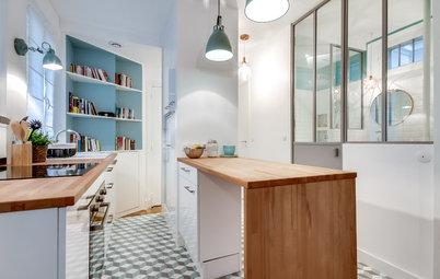Vorher-Nachher: Ein 25qm-Apartment in Paris mit cleverem Stauraum
