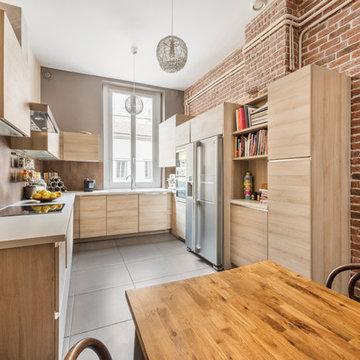 Une cuisine contemporaine à Lyon