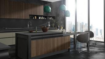 Une cuisine design empreinte de sensualité - Design Thibault Desombre