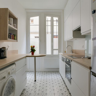 Une cuisine lumineuse,chaleureuse et fonctionnelle