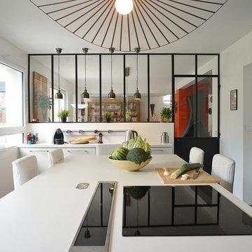 Une cuisine modernisée, un jardin métamorphosé