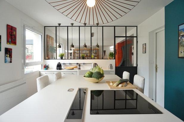 Modern Küche by ADC l'atelier d'à côté