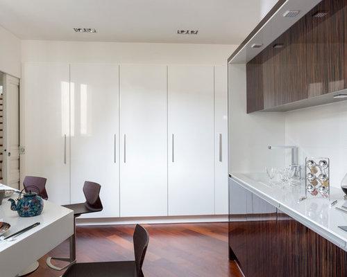 une cuisine ouverte pens e comme paravent. Black Bedroom Furniture Sets. Home Design Ideas