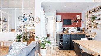 Une cuisine terracotta