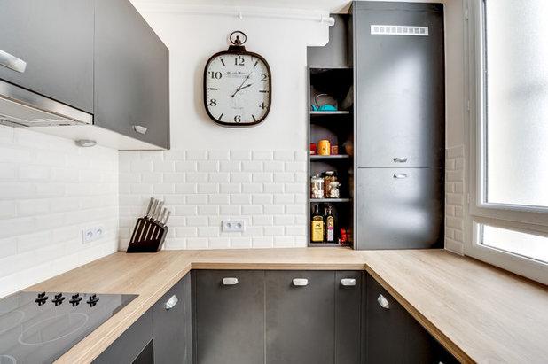 Hässliche Küche kochen auf 6 quadratmetern in