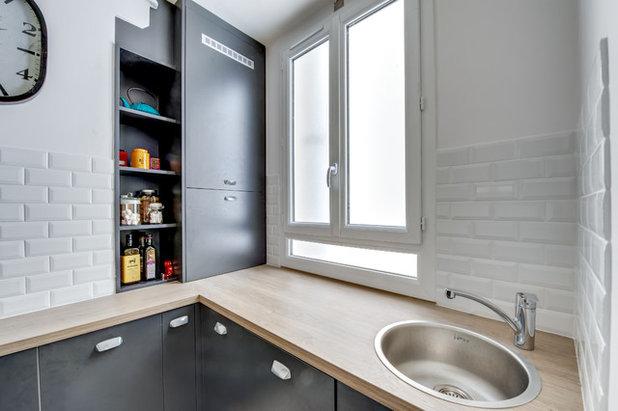 Kochen auf 6 quadratmetern in paris for Prix petite cuisine sur mesure