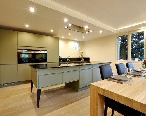 cuisine avec un plan de travail en granite photos et. Black Bedroom Furniture Sets. Home Design Ideas