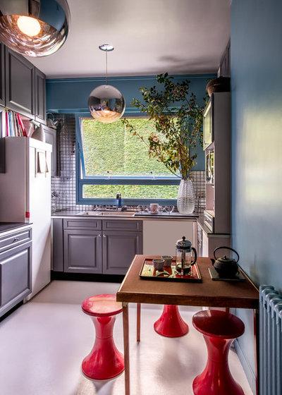Eklektischen stil einfamilienhaus renoviert  Emejing Eklektischer Einrichtungsstil Stilmix Gallery - House ...