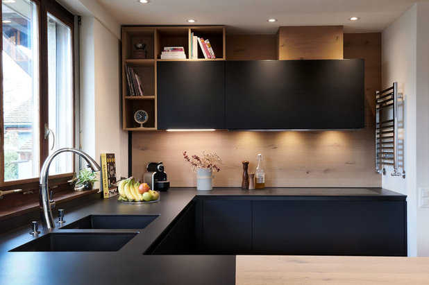 Contemporary Kitchen by Stephanie Prince Interior Design