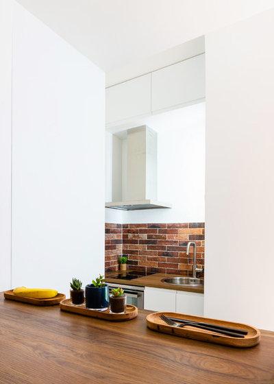 Industriel Cuisine by NEVA Architecture Intérieure - Interior Design