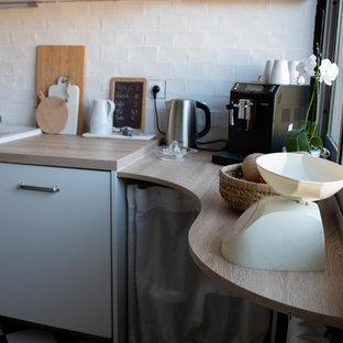 Visite privée : rénovation de la cuisine pour un style entre retro et scandinave