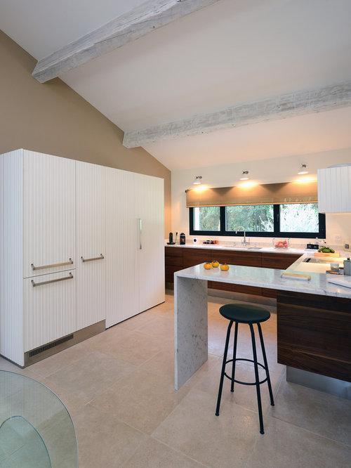 Cuisine ouverte de taille moyenne photos et id es d co de cuisines ouvertes - Taille moyenne cuisine ...