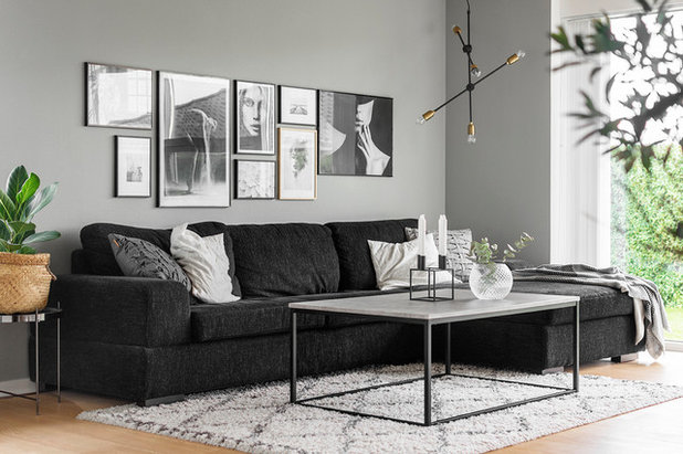 Industrial Living Room by A little story