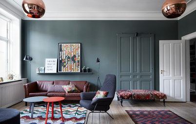 Dagligstue på Østerbro: Rum til leg, læsning og lystige farver
