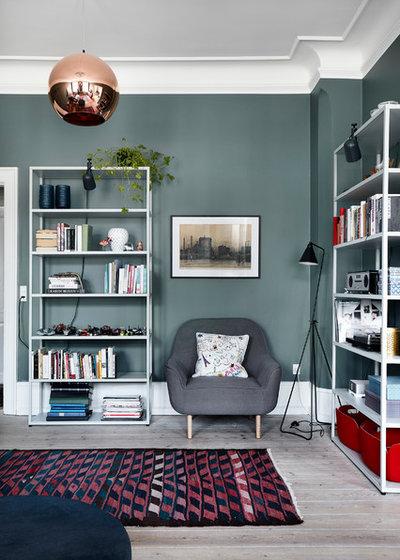 Scandinavian Living Room by The Sweet Spot