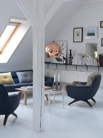 Skandinavisk Dagligstue by Frederikke Aagaard Design Studio