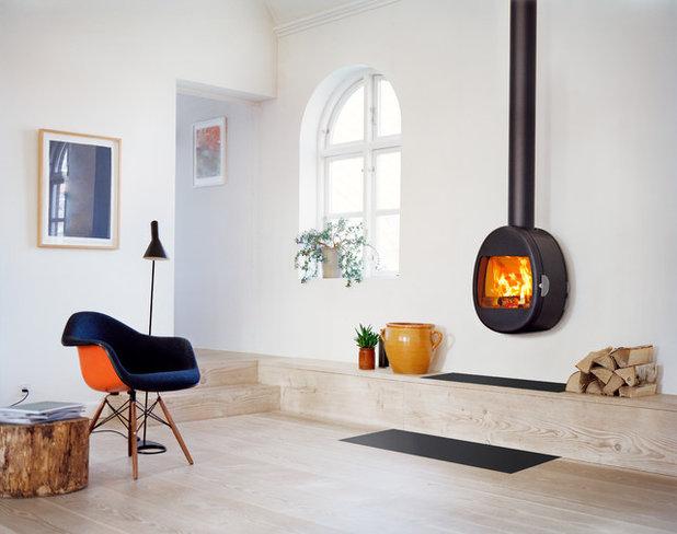 Skandinavisch Wohnbereich by Scan A/S