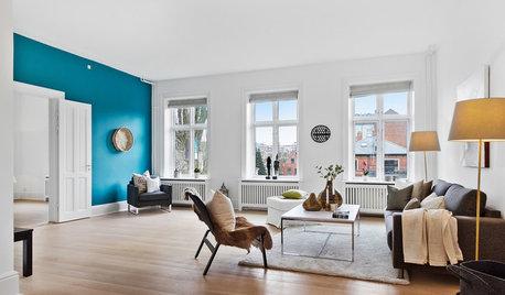 Wandfarbe Türkis: Ein Ton für jeden Raum