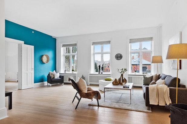 Skandinavisch Wohnbereich by In-Bolig Styling ApS