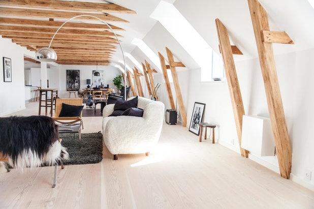 Scandinavian Living Room by Artcoustic  Loudspeakers