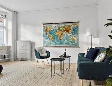 Full-styling af tom Østerbro-lejlighed.