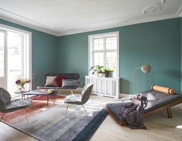 Hellerup, villa indretning