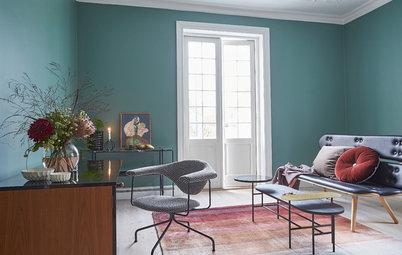 Vardagsrum: Rätt färg gör hela rummet – se expertens vågade val