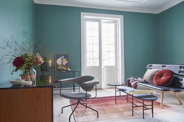 Scandinavian Living Room by Design Circus