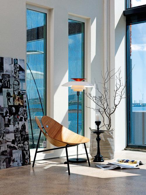 Billeder og indretningsidéer til moderne stue i other metro