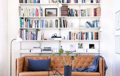 Älskar du böcker? Visa upp dina favoriter i ett modernt minibibliotek