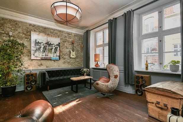 Eklektisch Wohnbereich by Fotograf Camilla Ropers