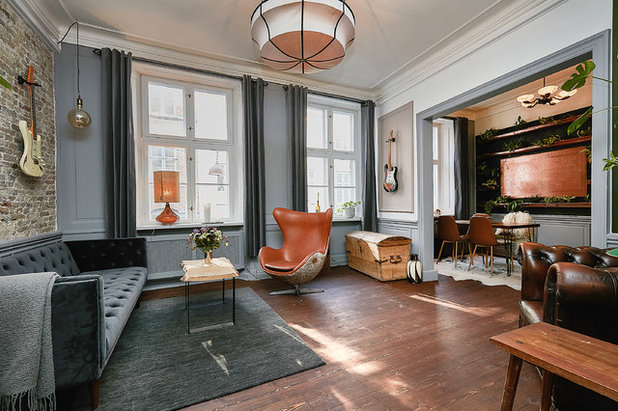 Eclectic Living Room by Fotograf Camilla Ropers