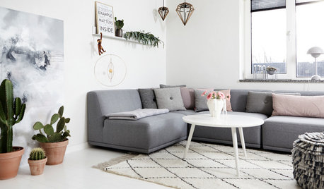 Turn Your Living Room Into a Snug Haven