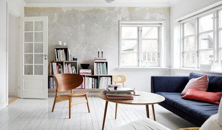 Houzz Дания: Дом со стеной, которую перекрашивали 14 раз