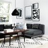 Houzz Tour: Budgetvenlig blogger elsker minimalisme, teak og DIY