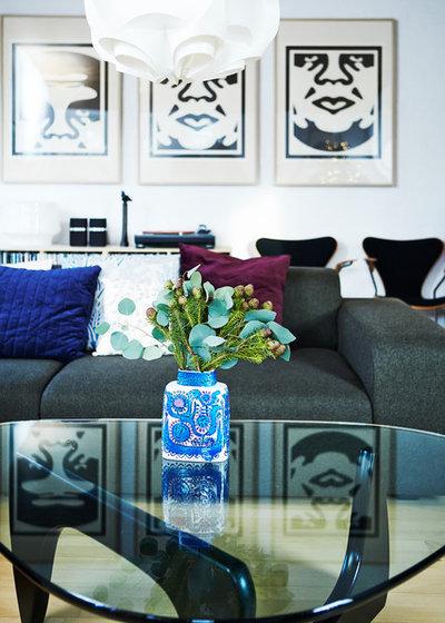 Retro Living Room by Mia Mortensen Photography