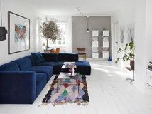 eine farbkombi ? 6 styles: wohnzimmer in blau, grau und weiß - Wohnzimmer Blau Wei Grau