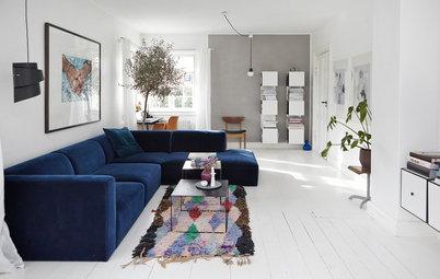 11 ideas para decorar con alfombras de pasillo toda la casa