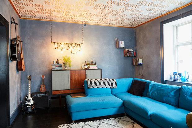 My houzz: lestrema passione di daniélle per le pareti scure