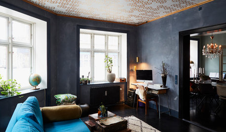 My Houzz: A Small Flat Does Scandi Style With a Bohemian Twist
