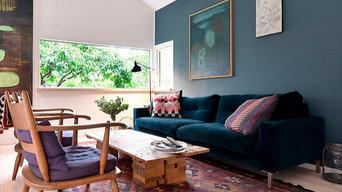 indretning og boligstyling af et helt hjem