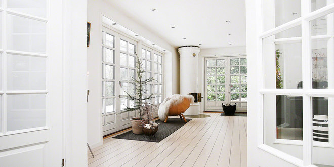 Scandinavian Living Room by Fotograf Camilla Ropers