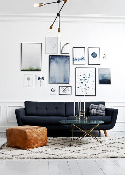 Modern Living Room by Mia Mortensen Photography
