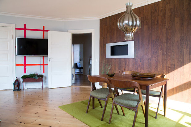 Houzz Tour: Retro og redesign dominerer det funky Nørrebro-hjem