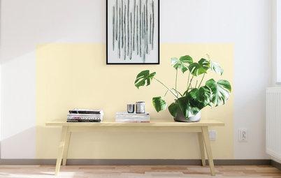 Dónde y cómo usar el amarillo pastel en la decoración del hogar