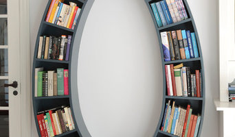 Oval Book Case
